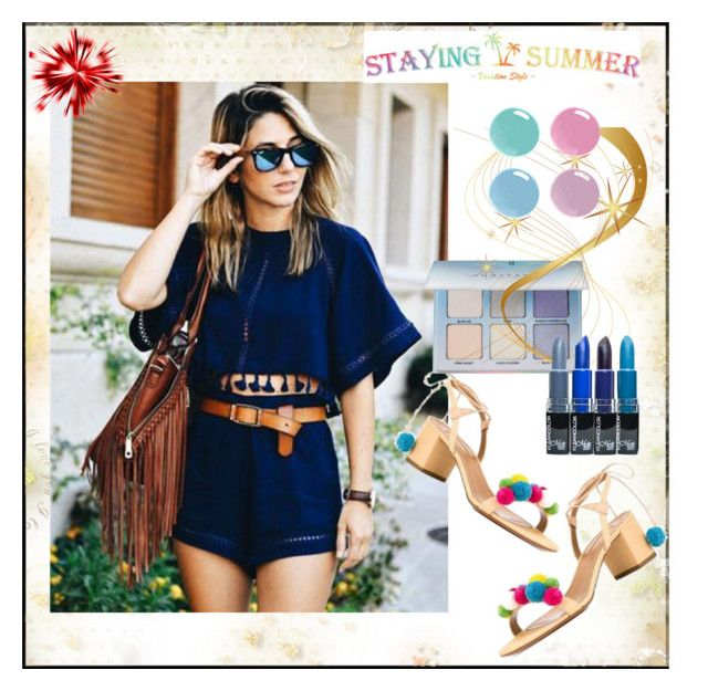 """STAYING SUMMER #3"" by nizaba-haskic ❤ liked on Polyvore featuring Anastasia Beverly Hills"