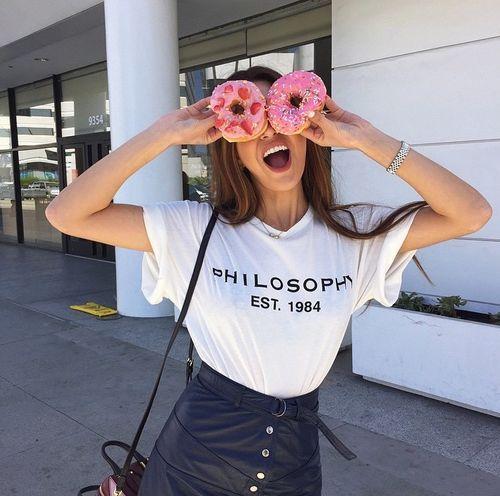 Bild-Ergebnis für tumblr donut girl      Kochen