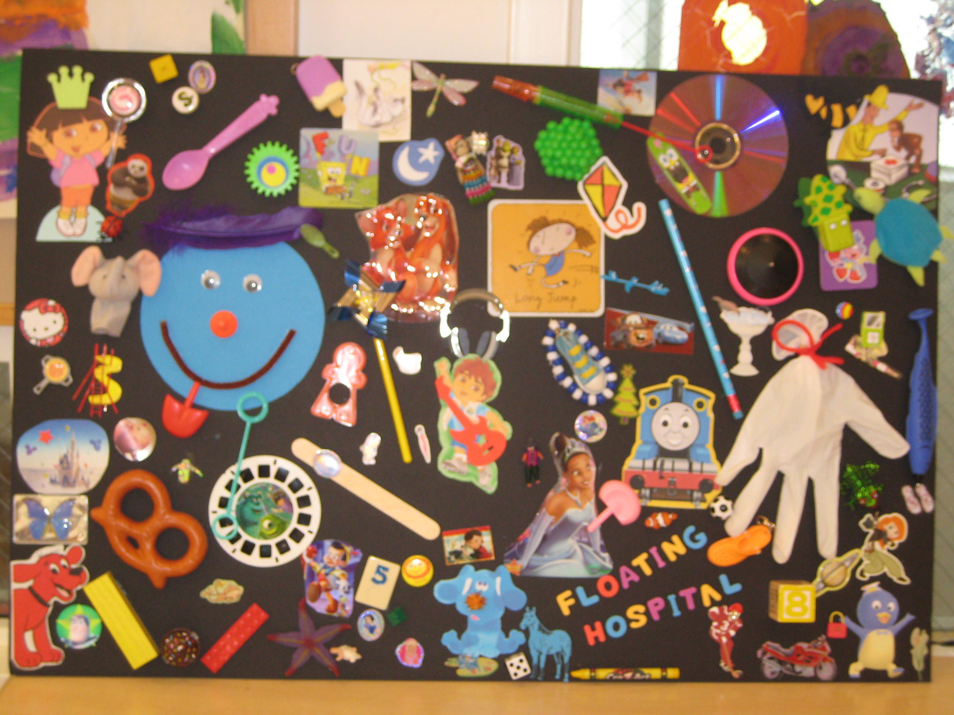 Diy I Spy Board Perfect For A Clinic Or Waiting Room