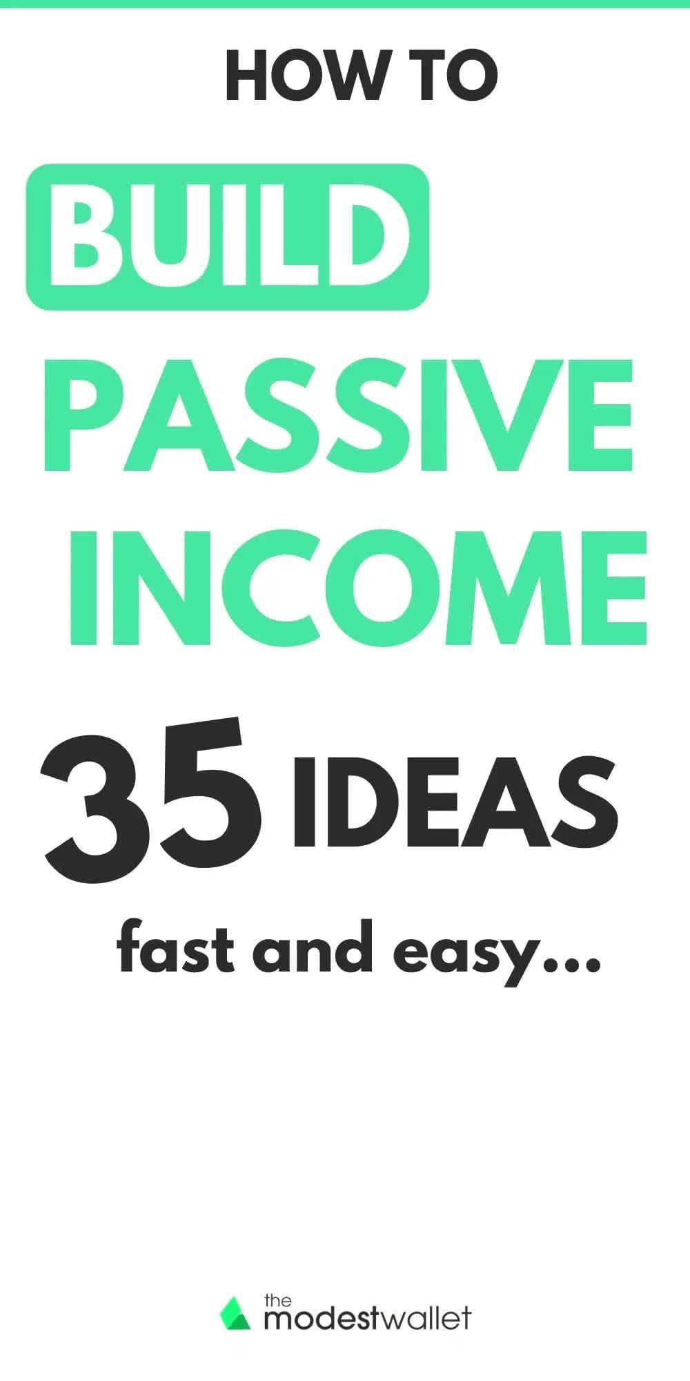 35 Passive Income Ideas to Make Money While You Sl...