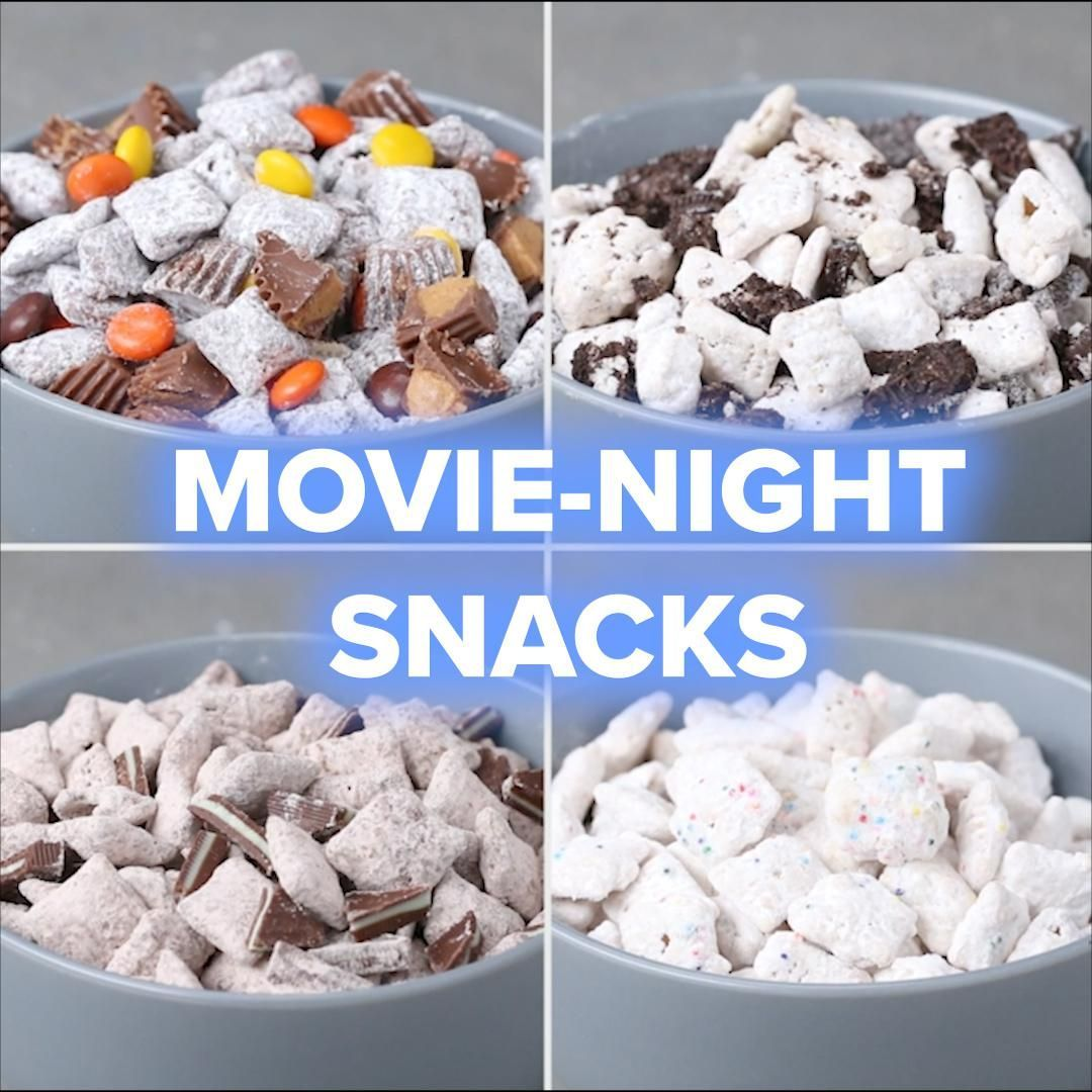 4 Movie-Night Snack Recipes #cakebatter Cake Batter Snack Mix Recipe by Tasty #movienightsnacks