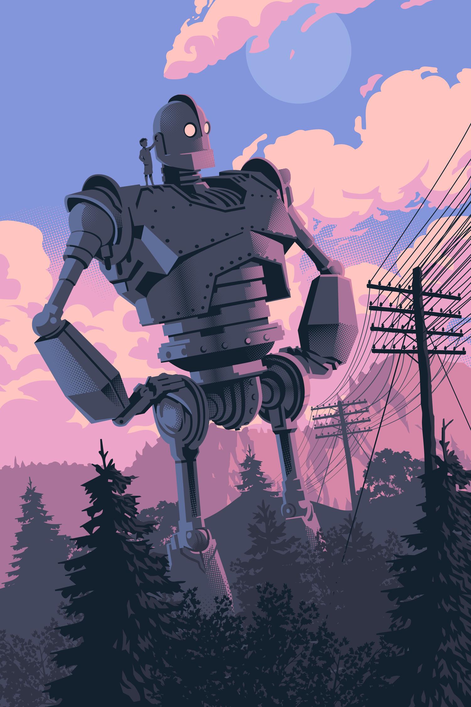 "Death /& Robots Animated Netflix TV Poster Art Print 13x20/"" 24x36/"" 27x40/"" Love"
