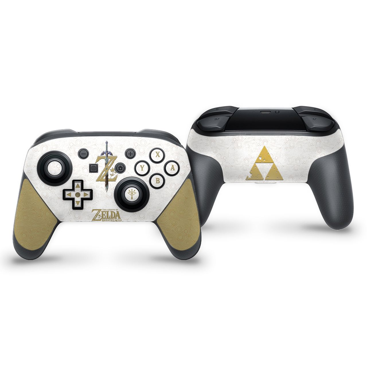 Botw White The Legend Of Zelda Theme Nintendo Switch Pro Controller Skin Nintendo Switch Accessories Nintendo Legend Of Zelda