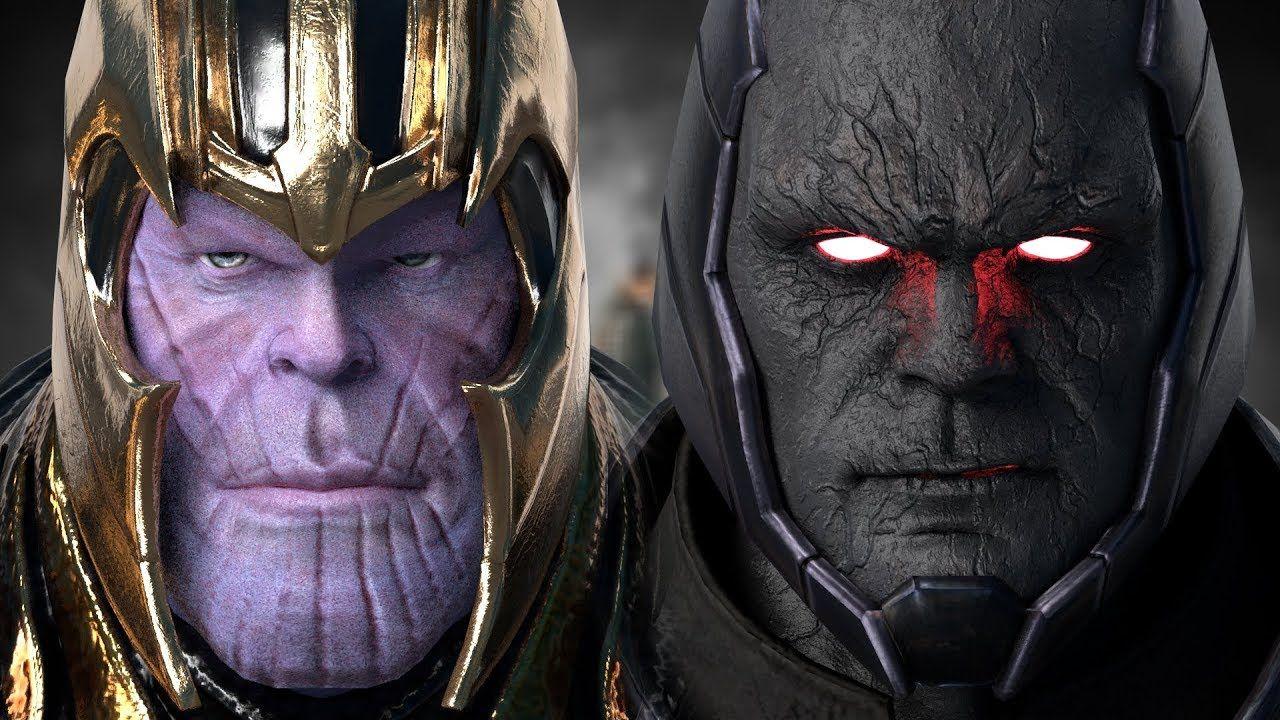 Thanos Vs Darkseid Battle Of The Titans Part I Epic Battle Darkseid Marvel Artwork Dc Comics Characters