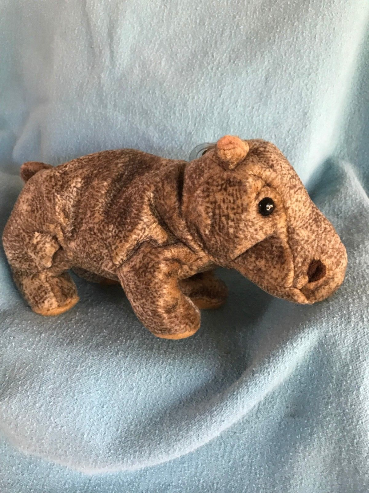 fa4d9b7aa61 TY Beanie Baby - TUBBO the Hippo (6 inch) - MWMTs Stuffed Animal Toy