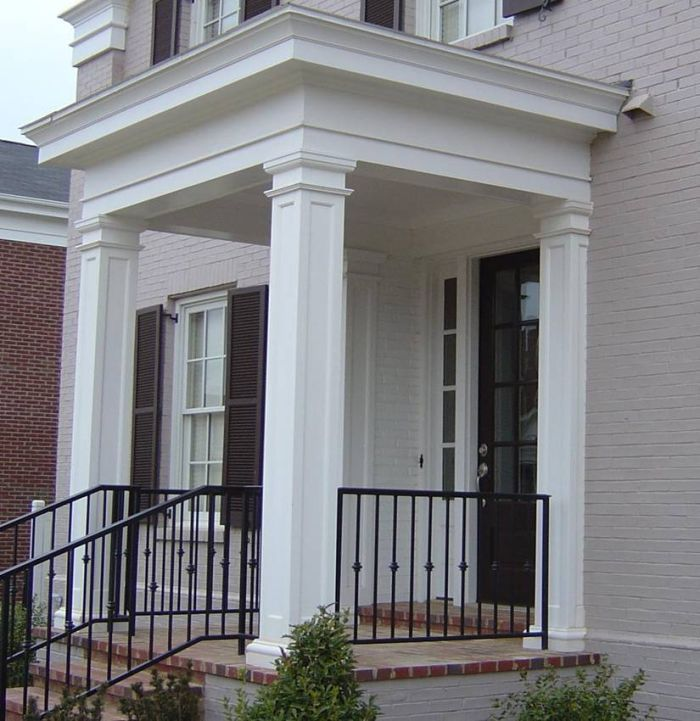 Image Result For Tapered Square Columns Colonial Portico