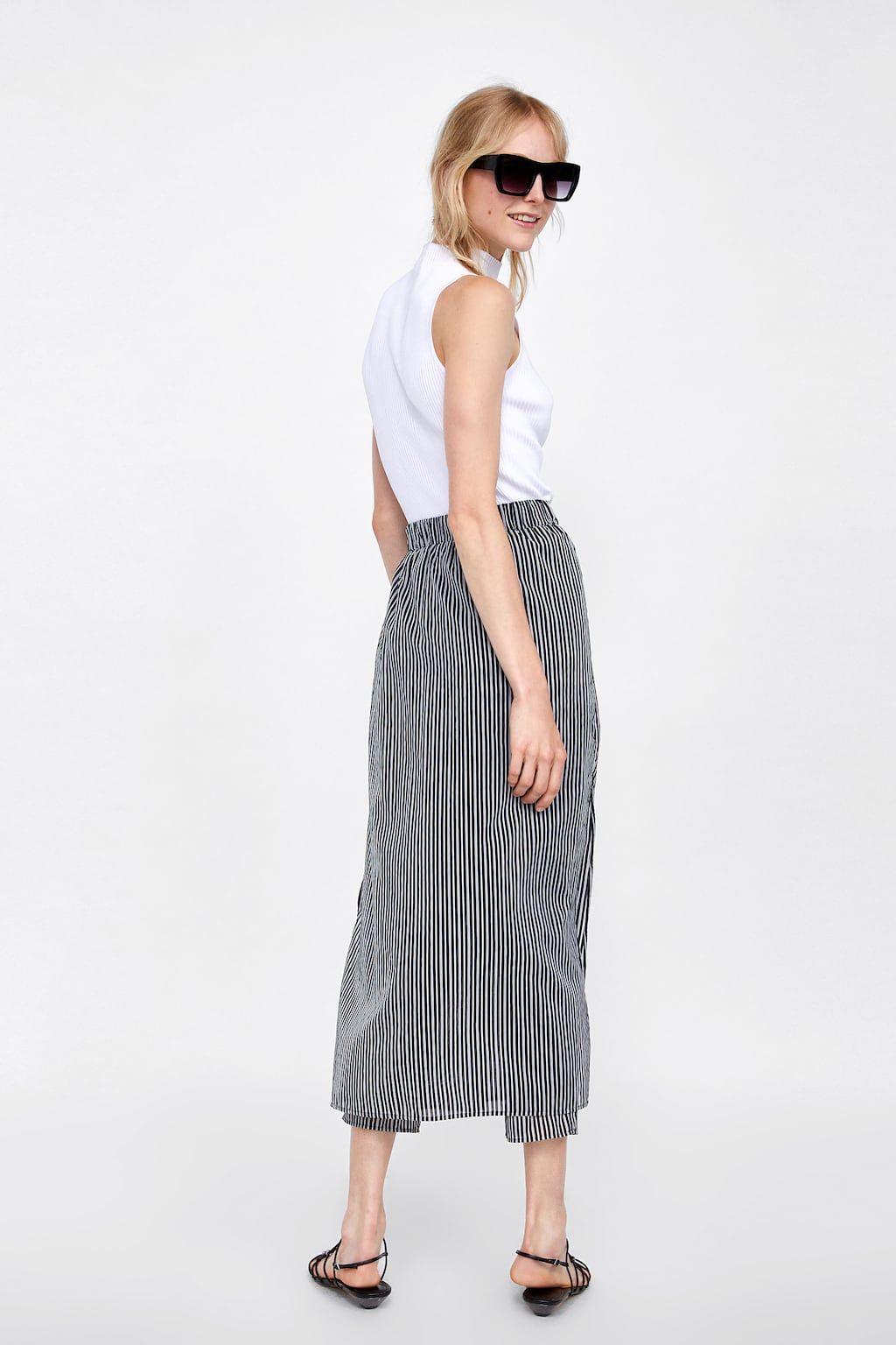 ZaraMy Pantalone Righe 7 Gonna Immagine Di A Pareo Style CxdBore