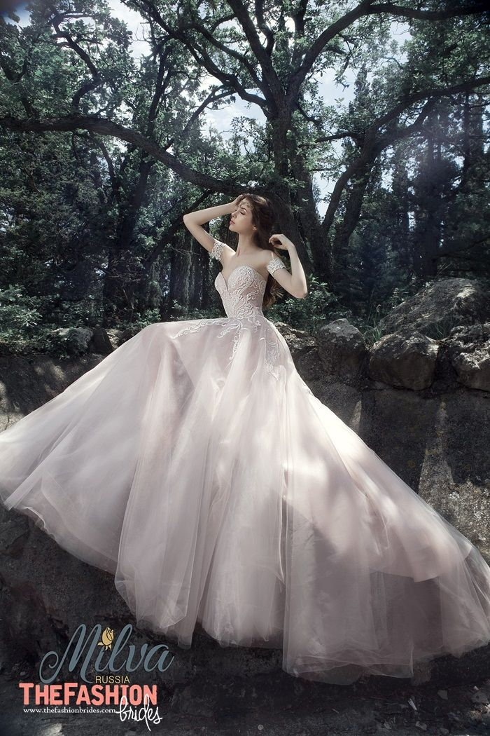 Thefashionbrides Is A Complete Guide To All Bridal Designers National And International With The Best Blush Gown A Line Wedding Dress Bridal Wedding Dresses