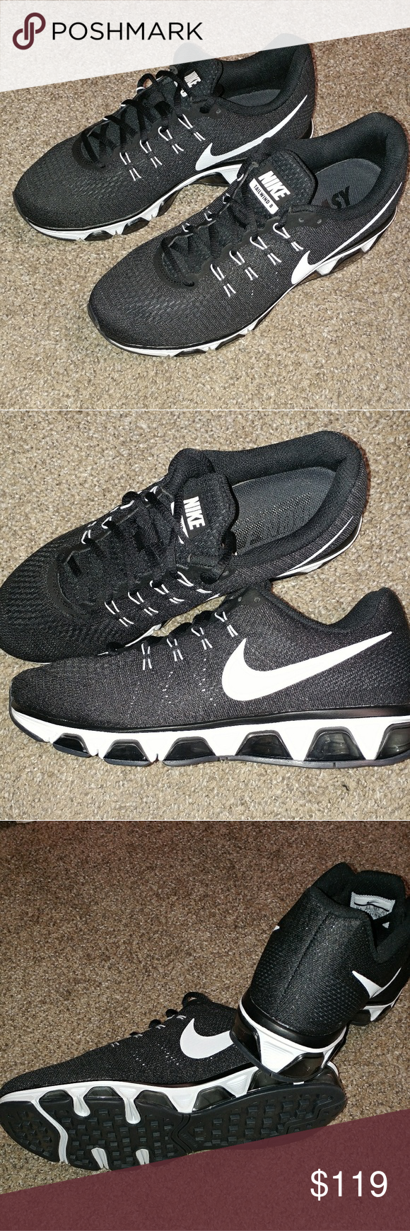 MENS 10.5 NIKE AIR MAX TAILWIND 8 RUNNING SHOES BRAND NEW WITH BOX (NO TOP