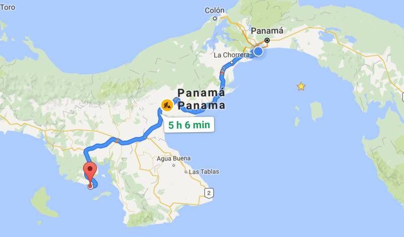 how to get to santa catalina panama