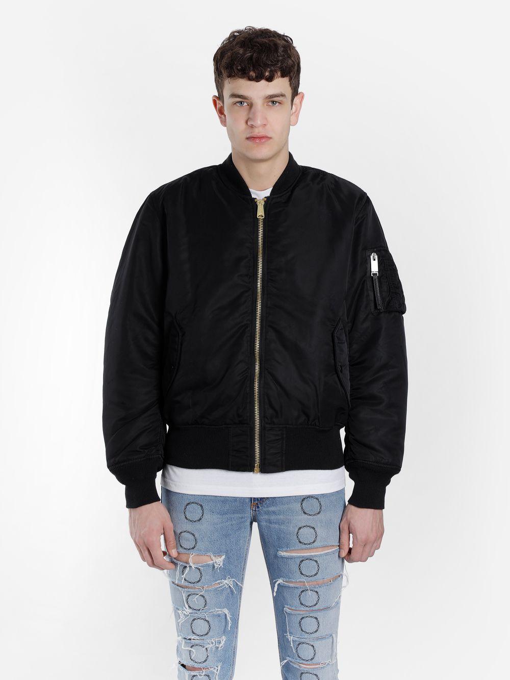 Alyx 1017 Alyx 9sm Men S Black Ma1 Reversible Bomber Jacket Alyx Cloth Jackets Bomber Jacket Black Bomber Jacket [ 1333 x 1000 Pixel ]