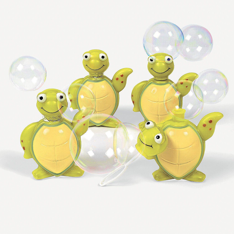 12 Sea Turtle Bubble Bottles $11/doz- OrientalTrading.com