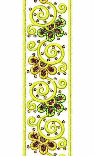 Sequins Maxi Dresses Lace Embroidery Design