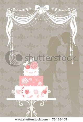 bolo detalhado de casamento