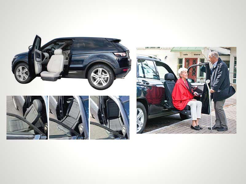 Disabled Drivers Seat Lift - Turny Evo.   Car Gadgets   Pinterest   Evo