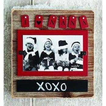 I Love Nana Frame   xmas gift ideas   Pinterest   Child