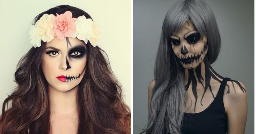Ideas de maquillaje para Halloween ¡Inspírate! Fancy makeup