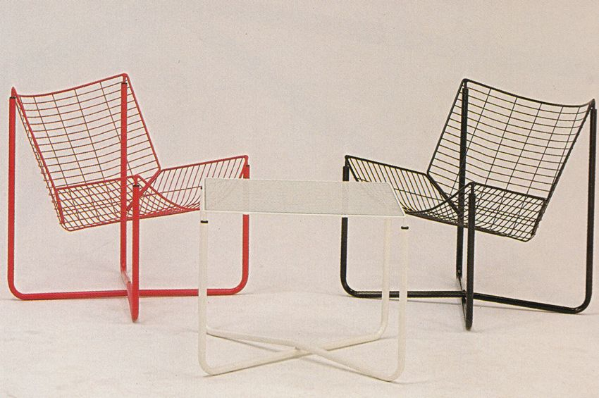 Wire Chairs and Table, Circa 1980