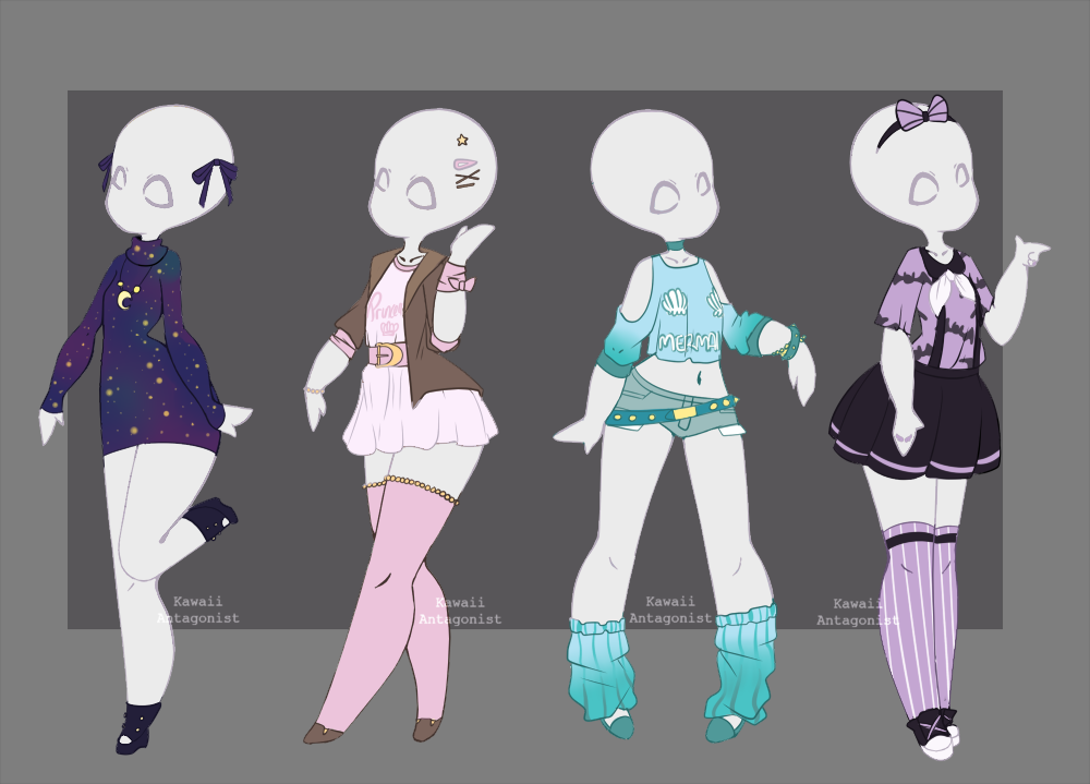 Wardrobe adopts 2 - closed by kawaii-antagonist.deviantart.com on @DeviantArt | References for ...