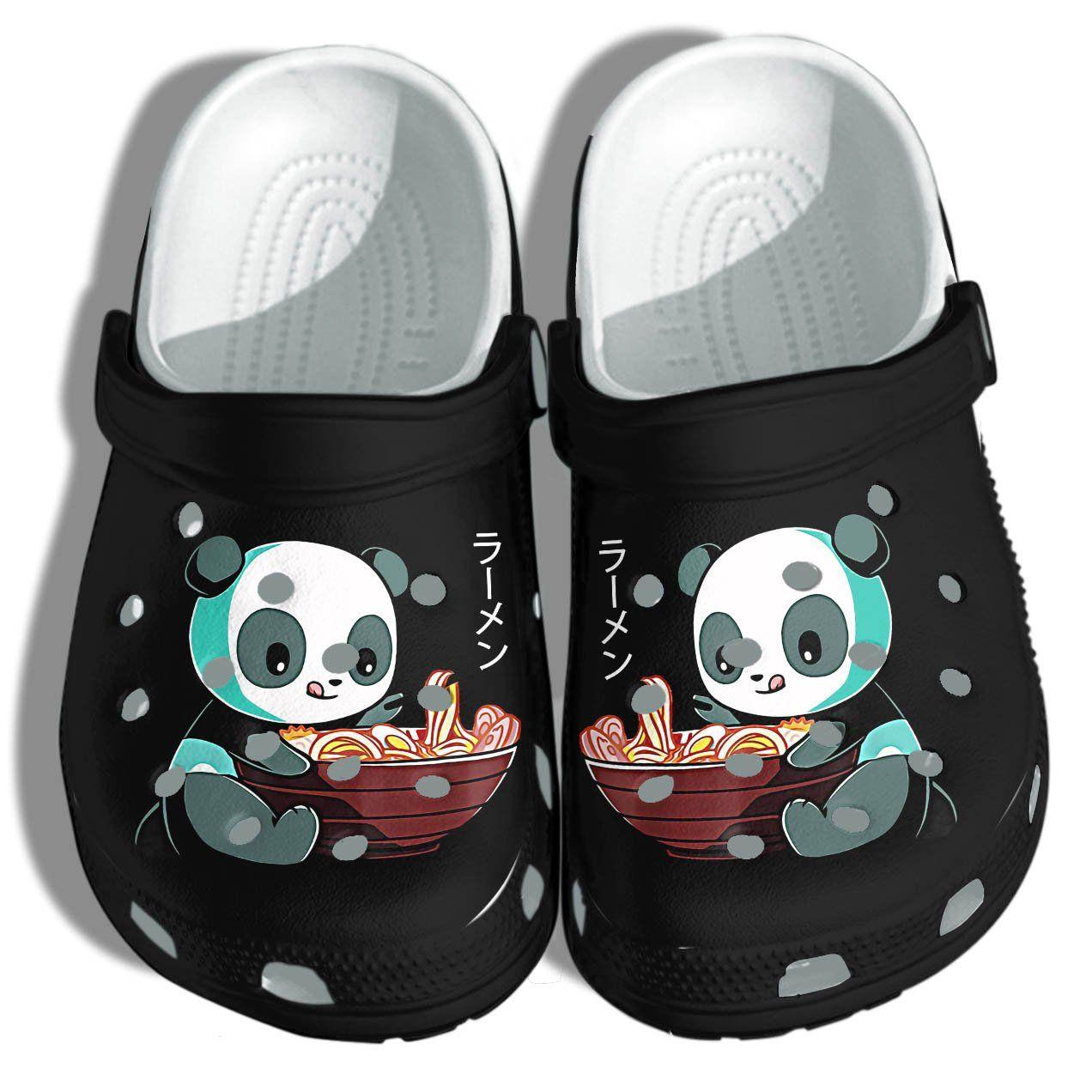 Photo of Panda Shoes Croc – Anime Panda Noodle Japan Shoes Croc For Men Women Who Love Panda