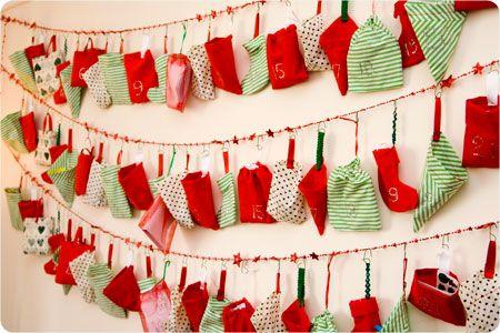 Nanny Pickle\u0027s Amazing Advent Calendar Christmas words, Advent