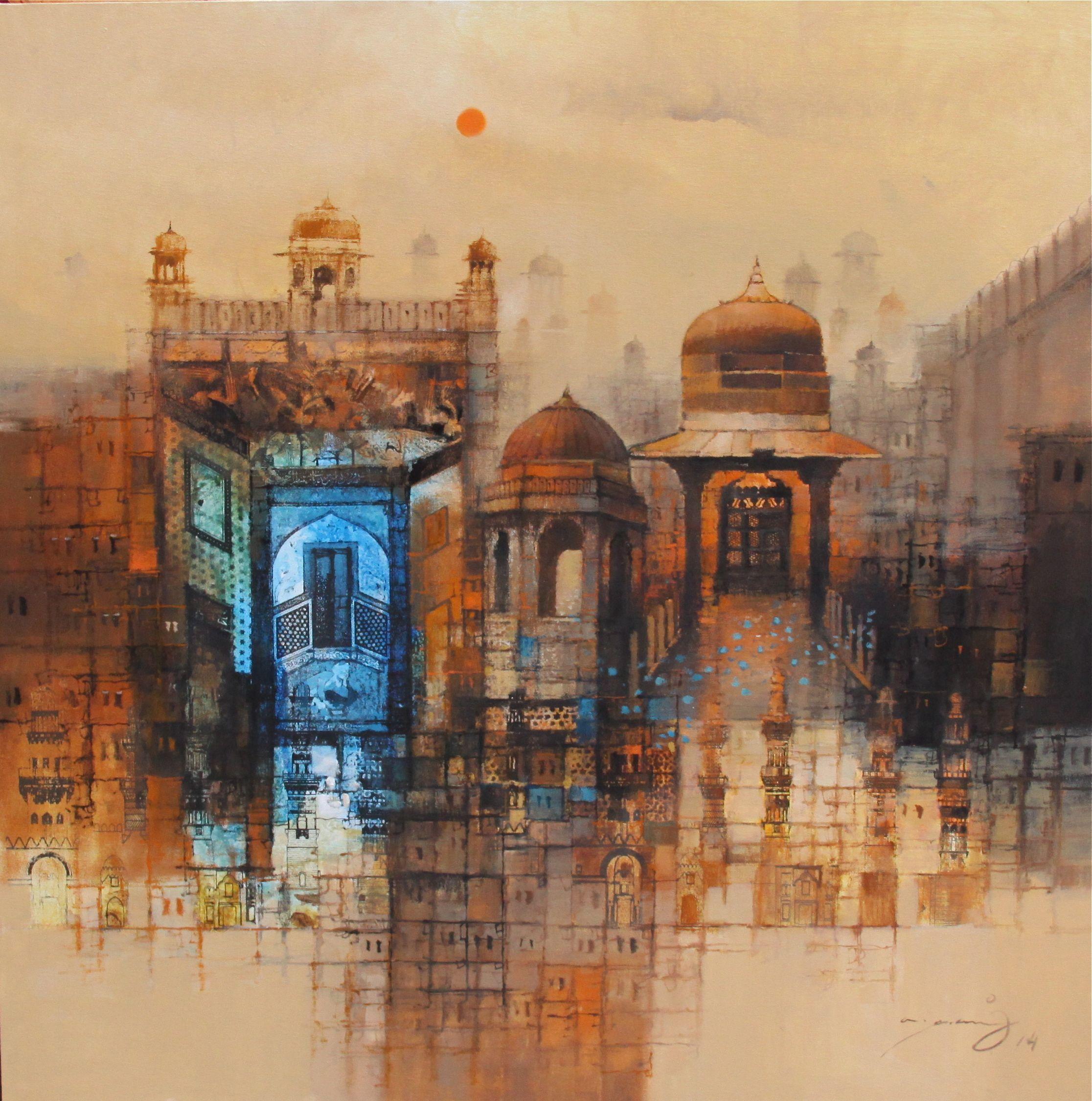 A.Q.Arif Pakistan Cool artwork, Art, Contemporary art