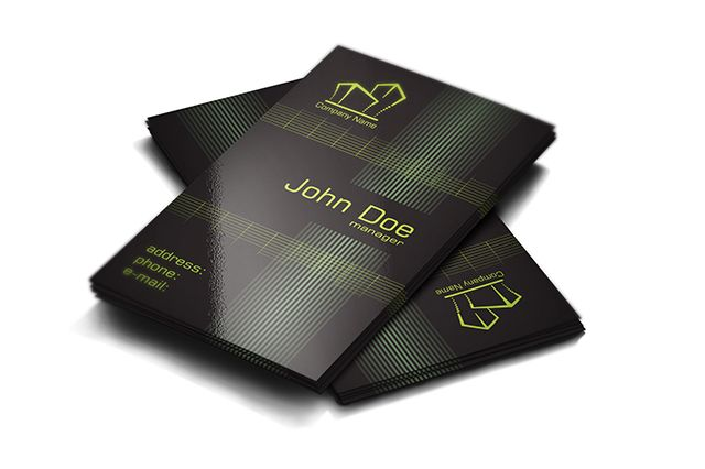 Free real estate business cards design available for download as free real estate business cards design available for download as print ready vector file accmission Choice Image