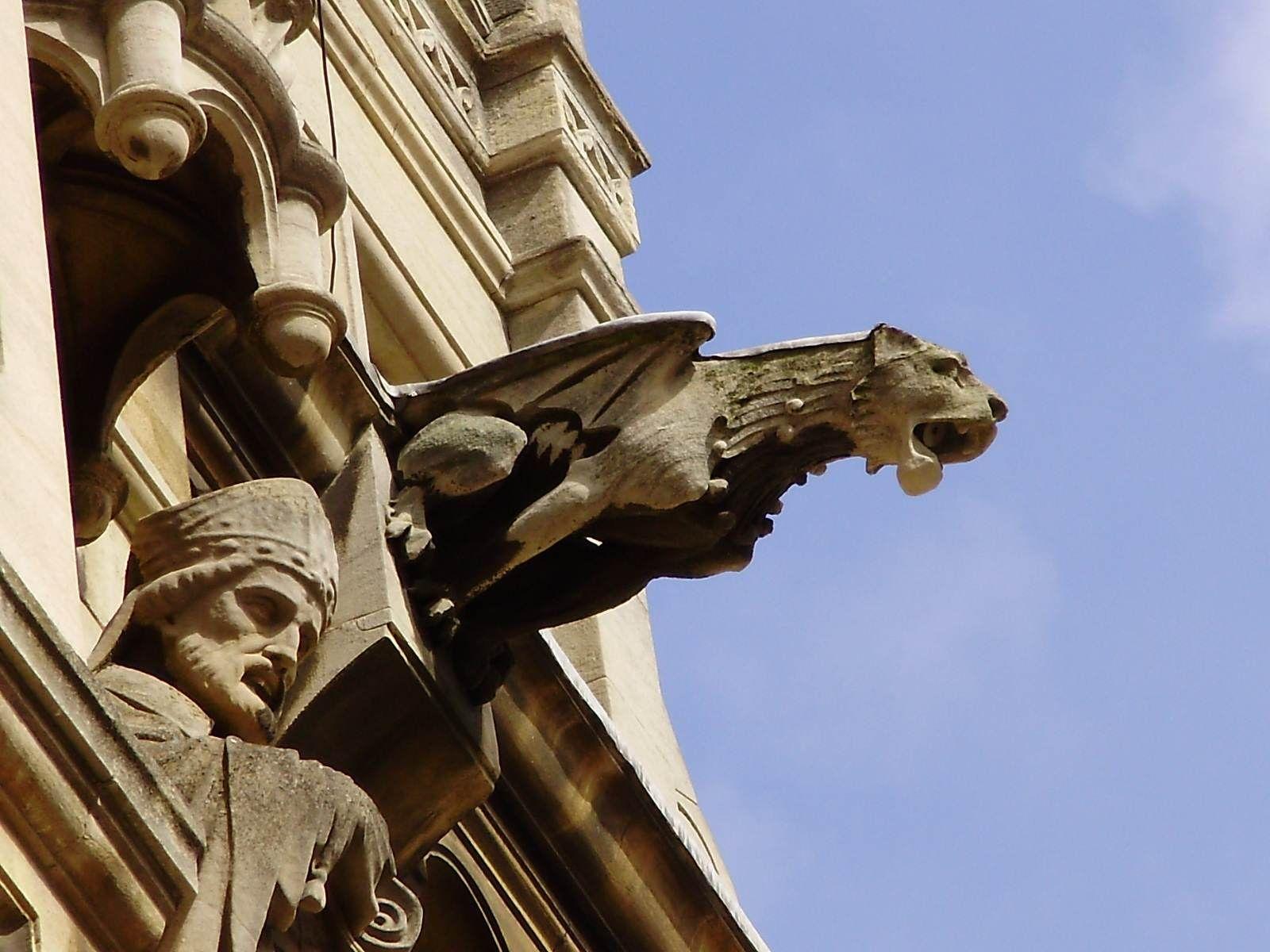 pics for gothic architecture gargoyles