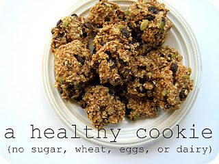 a healthy cookie recipe (seriously!)