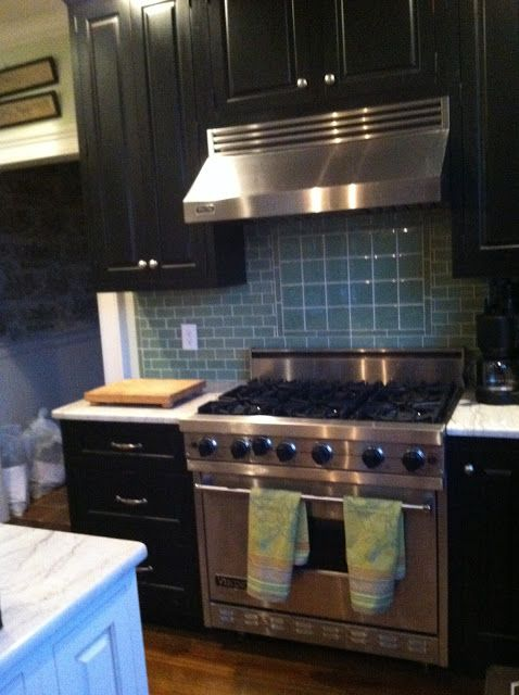 Horse Country Chic: Another Black Kitchen
