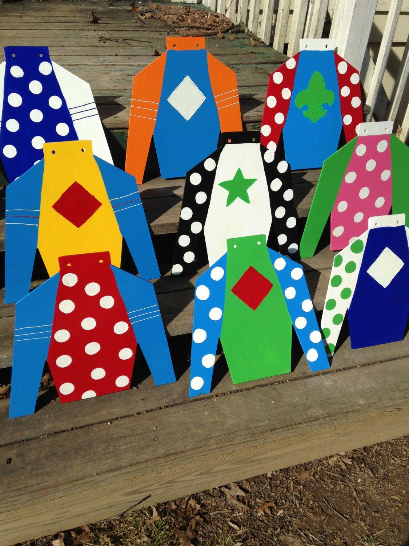 jockey silks template - hand painted derby horse racing horse farm jockey silk