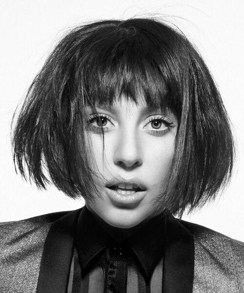 Lady Gaga Short Hair Fotos De Lady Gaga Lady Gaga Moda Extravagante