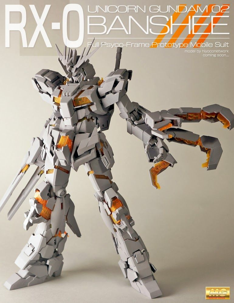 Gundam Guy Mg 1 100 Gundam Unicorn 02 Banshee Banshee Norn D U