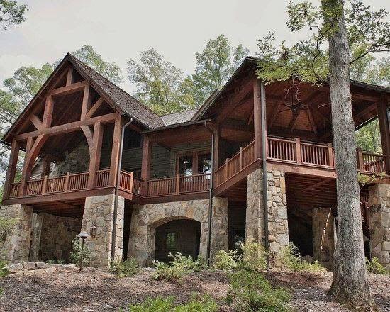 Fachadas de casas Rusticas - II casa Pinterest