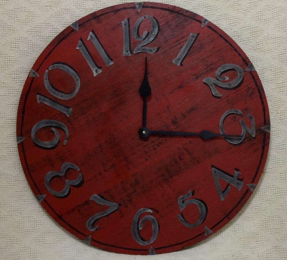Rustic Souvenir Gift Wood Wall Clock