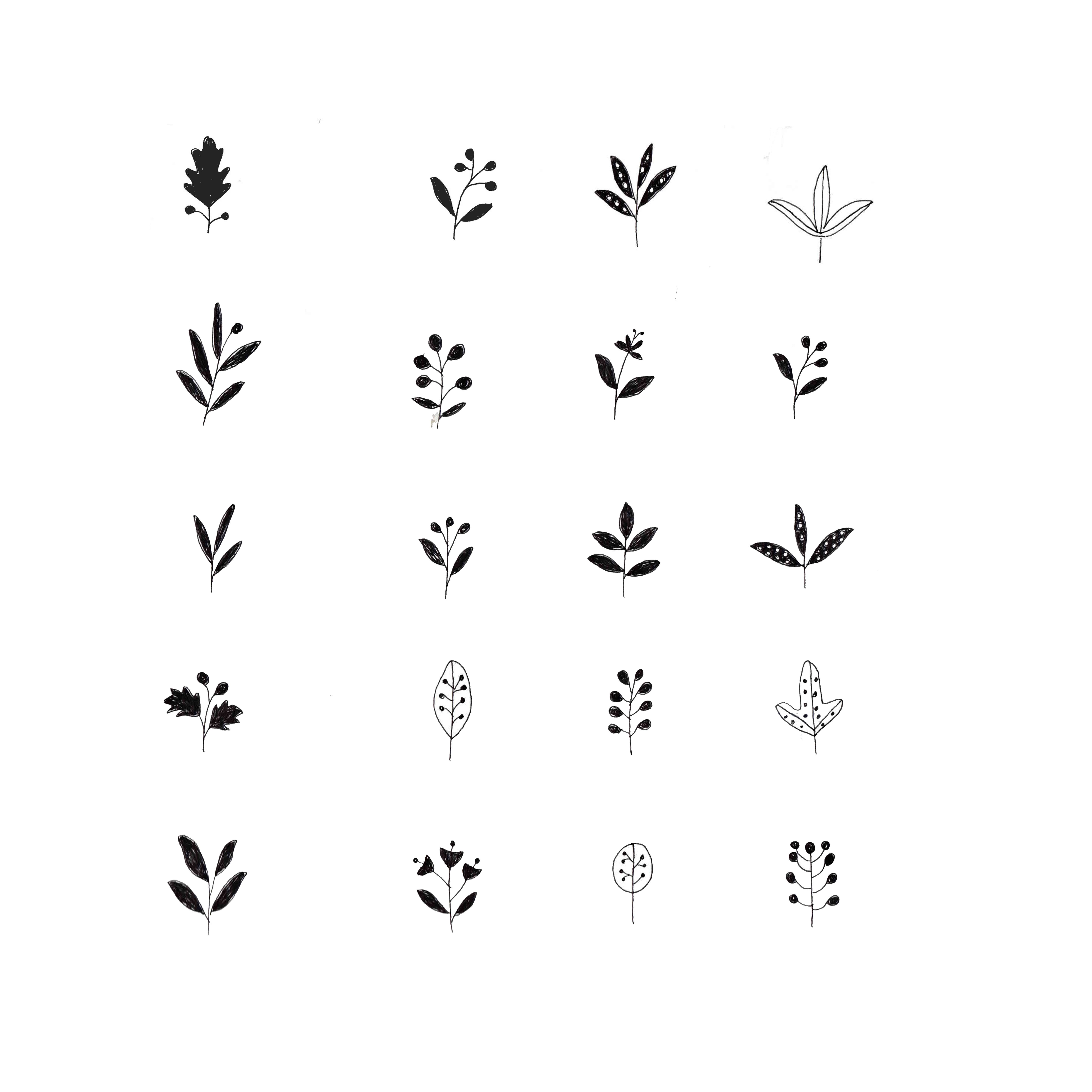 Illustration by ryn frank nature for Minimalist house tattoo