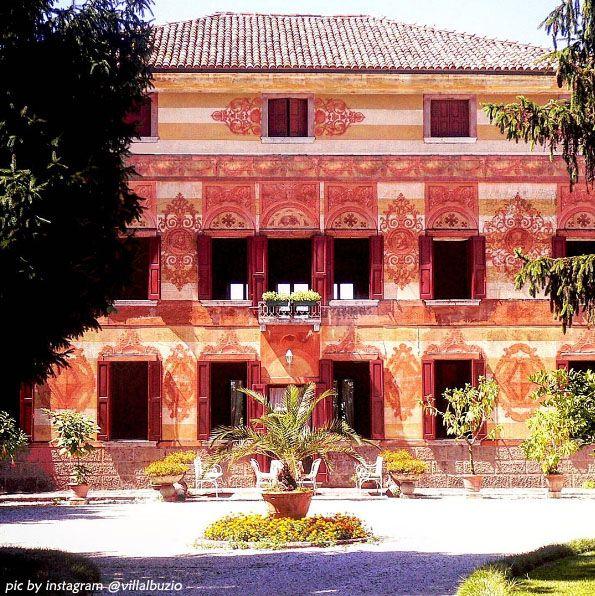 Villa albuzio zero branco treviso venetian villas and for Planimetrie hacienda