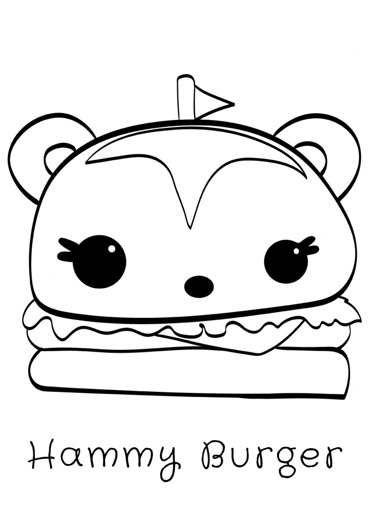Num Noms Coloring Pages   Coloring pages, Coloring pages ...