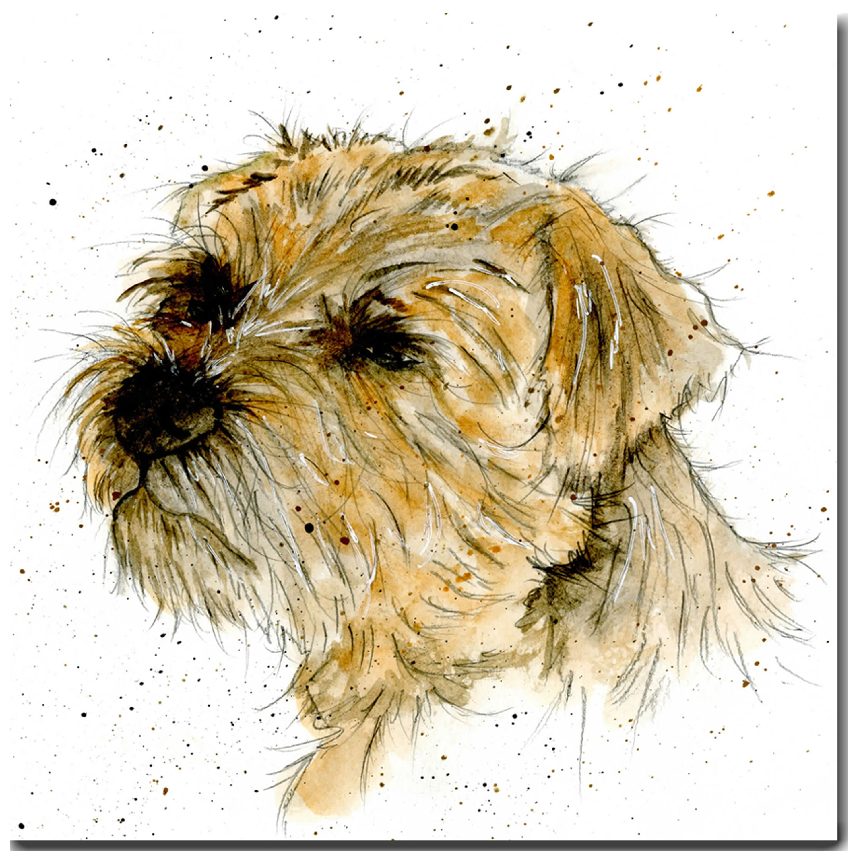 Monty the border terrier greeting card 225 the skinny card company monty the border terrier greeting card 225 the skinny card company m4hsunfo
