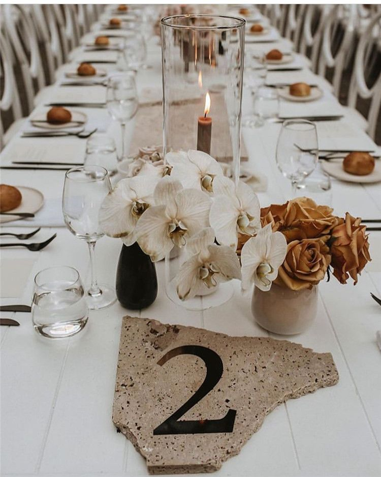 Here Has 50 Stylesh And Elegent Wedding Table Decorations Ideas You Re Welcome To Use These Ideas Fo Wedding Table Wedding Table Settings Wedding Tablescapes
