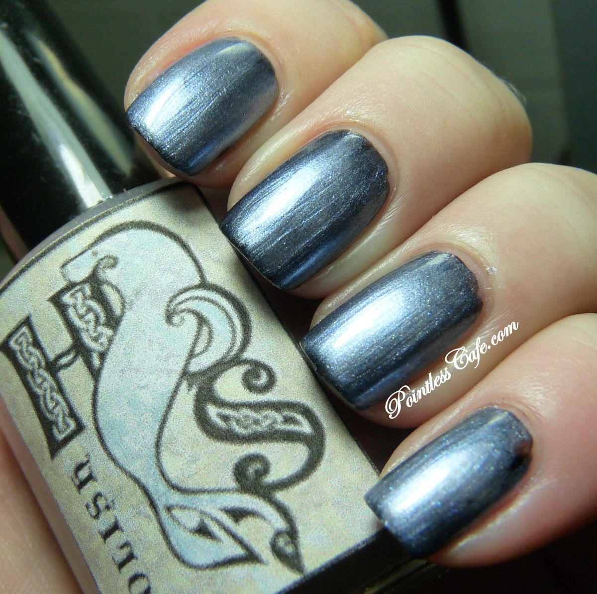 Hebridean Sprite Beauty Chakora Beams (over black) - Swatches and Review | Pointless Cafe