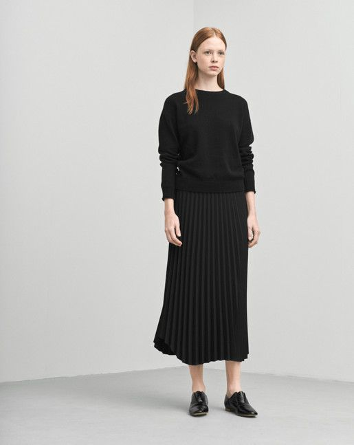 filippa k plisse skirt