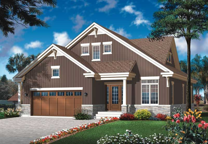 Main Image For House Plan 20012 Craftsman House Plans