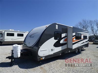 Used 2008 KZ Coyote MXT MXT264 Toy Hauler Travel Trailer at General RV | Birch Run, MI | #138793