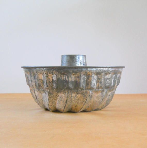 Vintage Metal Jello Mold • Kaiser West Germany Jello Mold | Jello ...