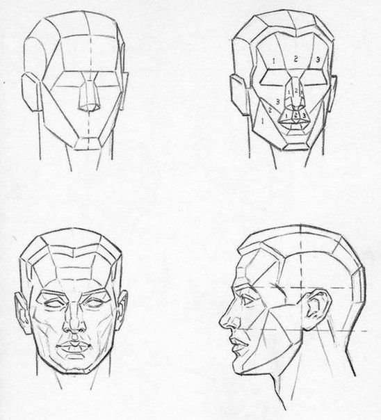 Pin by Twyla Cat on How to draw face | Sketch book ...