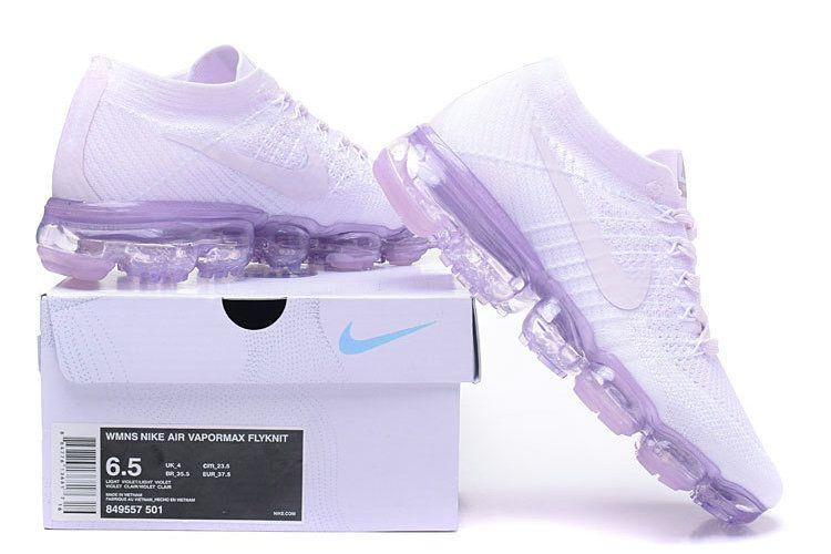 c333169e7ec Nike Air Vapormax Flyknit 2018 WMNS Schoen Licht Violet 849557-501 ...