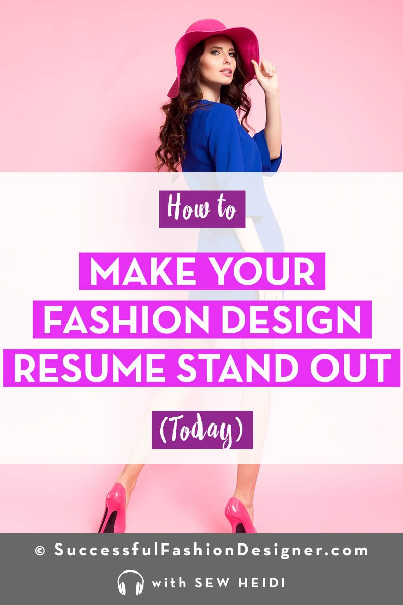 Fashion Designer Resume What You Need To Include That No One Does Career In Fashion Designing Fashion Designer Resume Fashion Design