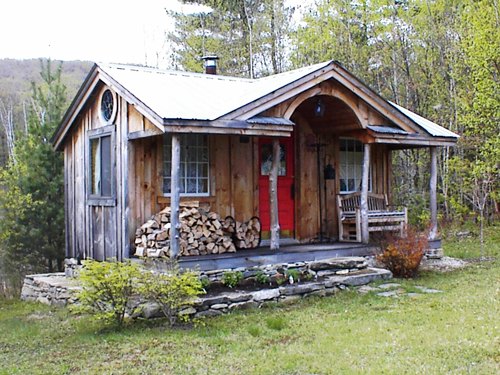 Our gibraltar cabin was recently featured in better homes for Shed guest house kit
