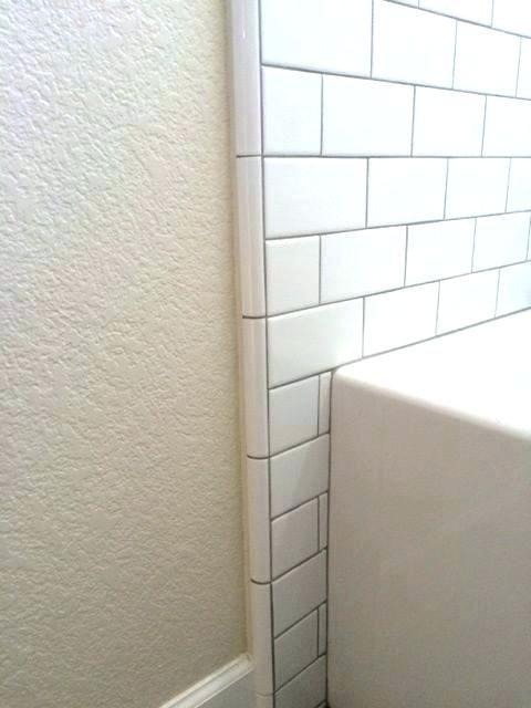 Subway Tile Bullnose Vs Schluter Google Search Tile